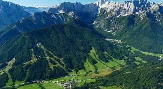 Kranjska Gora Triglav national park vakantie Slovenie