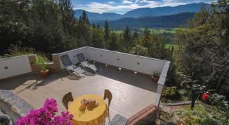 Heerlijk terras met uitzicht